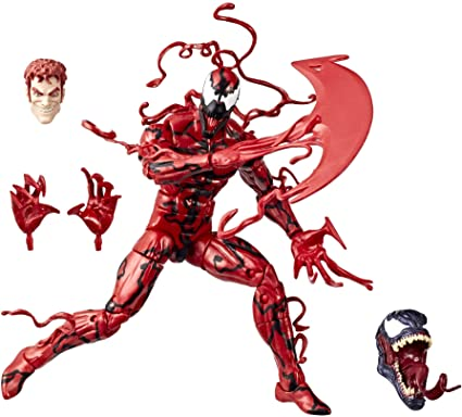 MARVEL LEGENDS Venom Wave 1 Carnage de monstre Venom Série