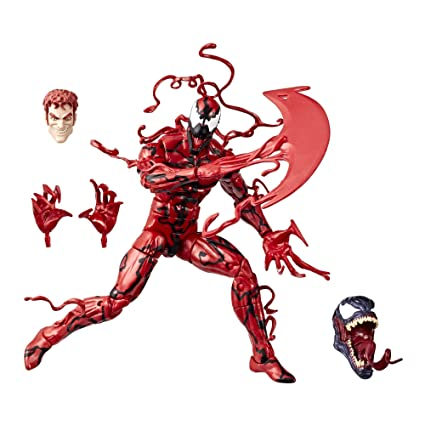 amazon com marvel legends series 6 inch carnage toys games