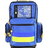 Mochila de emergencia médico M 48 x 35 x 23 cm colour azul de nailon para