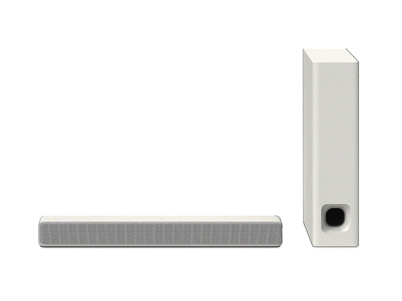 Sony HT-MT300/W HT-MT300 Powerful Mini Sound bar with Wireless Subwoofer, White (2017 Model)