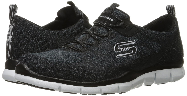 Skechers Sport Knit Gratis Hit It Big Fashion  Nero/White Knit Sport 4127f1