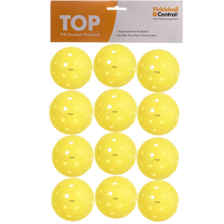 (la de la bola superior exterior Pickleball), Baker 's 12, amarillo Baker 's 12 PickleballCentral NC-3UBR-KXAV