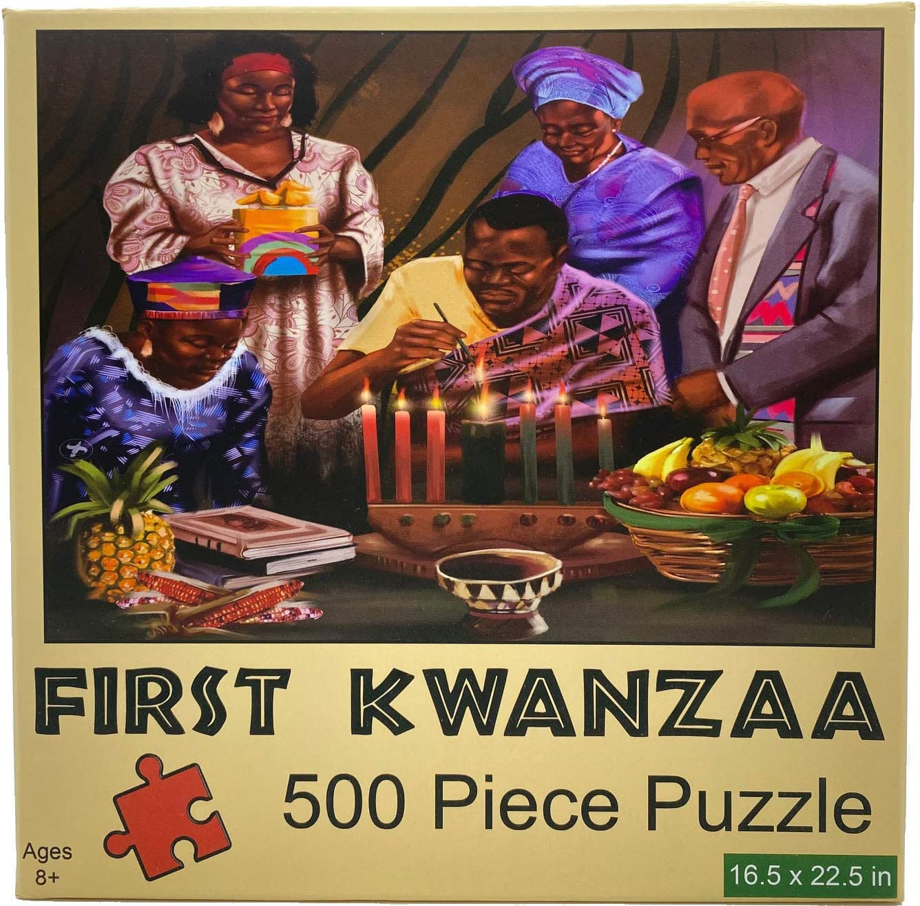 First Kwanzaa 500 Piece Jigsaw Puzzle