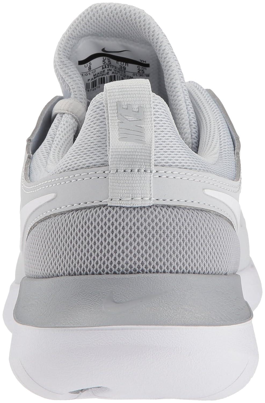 NIKE Women's Tessen Running Shoe B0733WNWKJ 8 B(M) US Pure Platinum/White - Wolf Grey