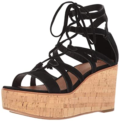 3348d92ec922 Amazon.com  FRYE Women s Heather Gladiator Wedge Sandal  Shoes