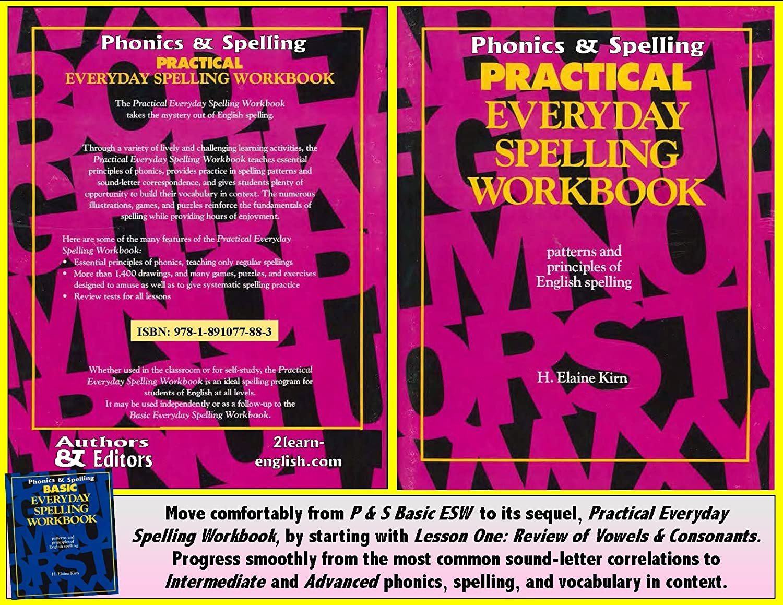 Amazon.com : Phonics & Spelling Workbook, Practical: More Patterns ...