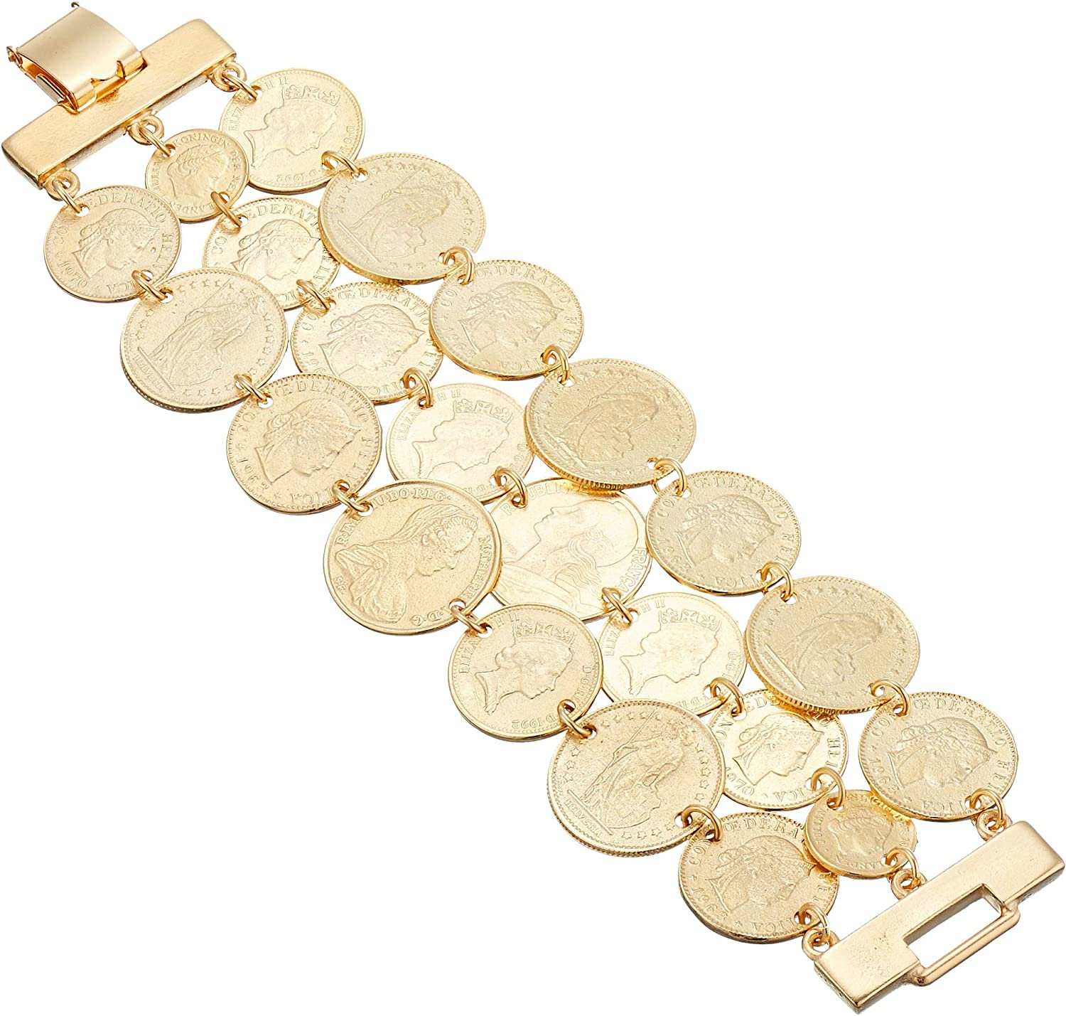 """Ben-Amun Jewelry """"Moroccan Coins"""""""