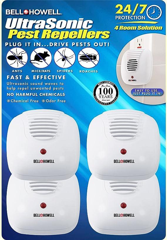 Bell + Howell Ultrasonic Pest Repeller Home Kit