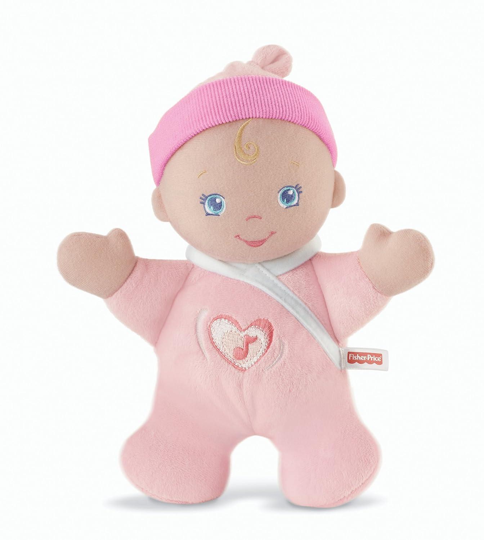 Mattel Fisher Price V6939 Sweet Pink Plush Soft Toy Stuffed Doll