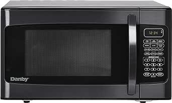 Amazon.com: 1000 W de microondas, color negro: Aparatos