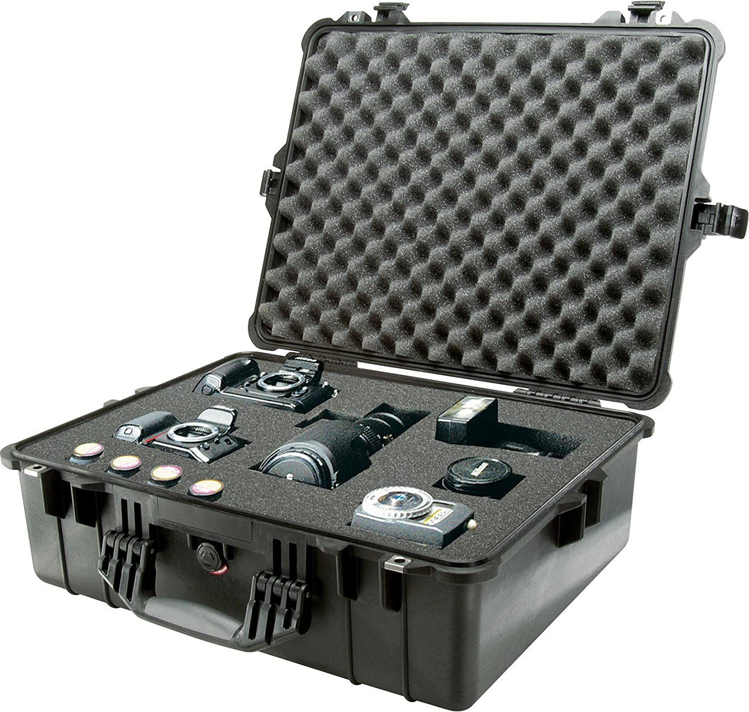 Orange Pelican 1600 Camera Case With Foam