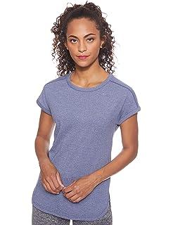 L Lila Mujer Columbia Ocean Fade Short Sleeve tee Camiseta de Manga Corta Bright Lavender