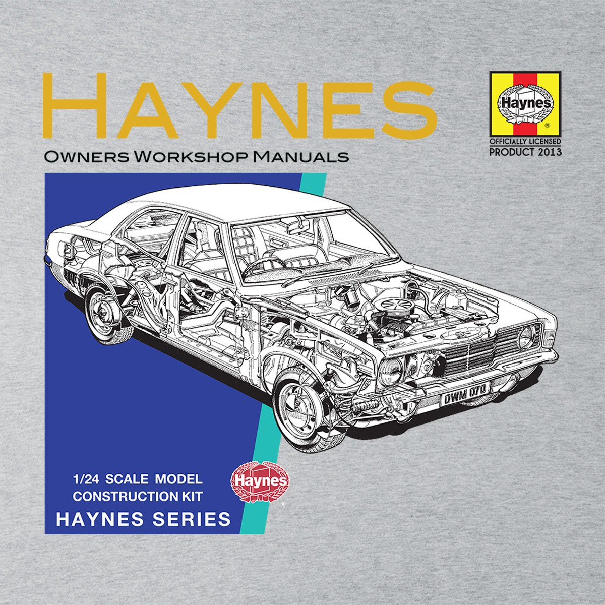 Haynes Owners Workshop Manual 0070 Ford Cortina Mk3 Men's Vest | Amazon.com