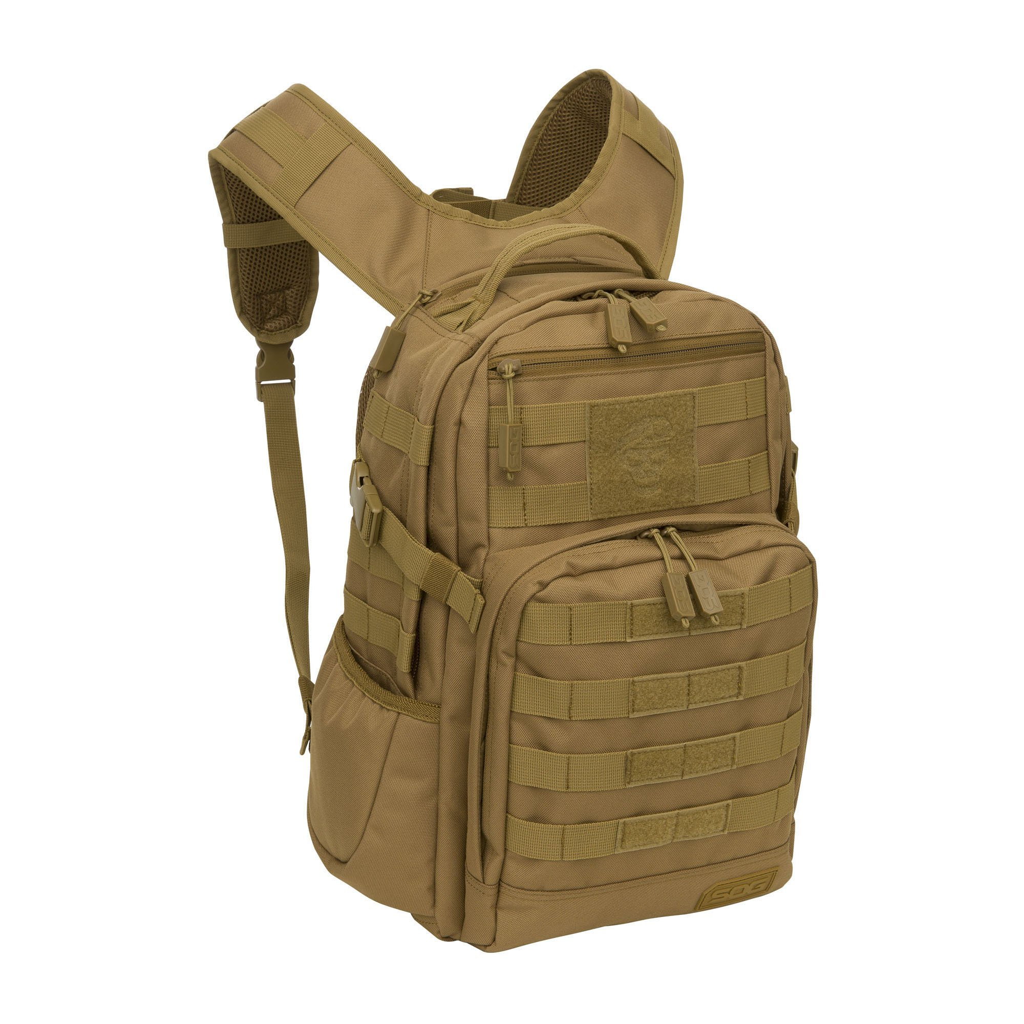 SOG Ninja Tactical Day Pack, 24.2-Liter, Clay Brown