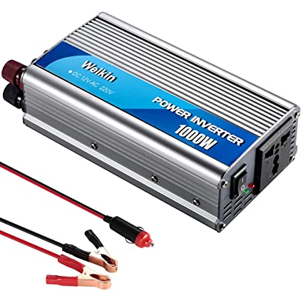 weikin Power Inverter 1000 Watt DC 12 Volt to AC 220 V 230 V 240 V on