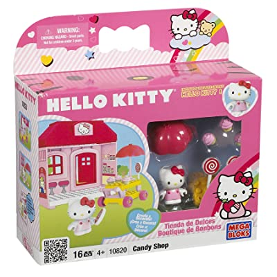 Mega Bloks Hello Kitty Candy Shop: Toys & Games