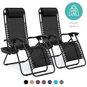 Best Choice Products Adjustable Zero Gravity Pool Lounge Chair