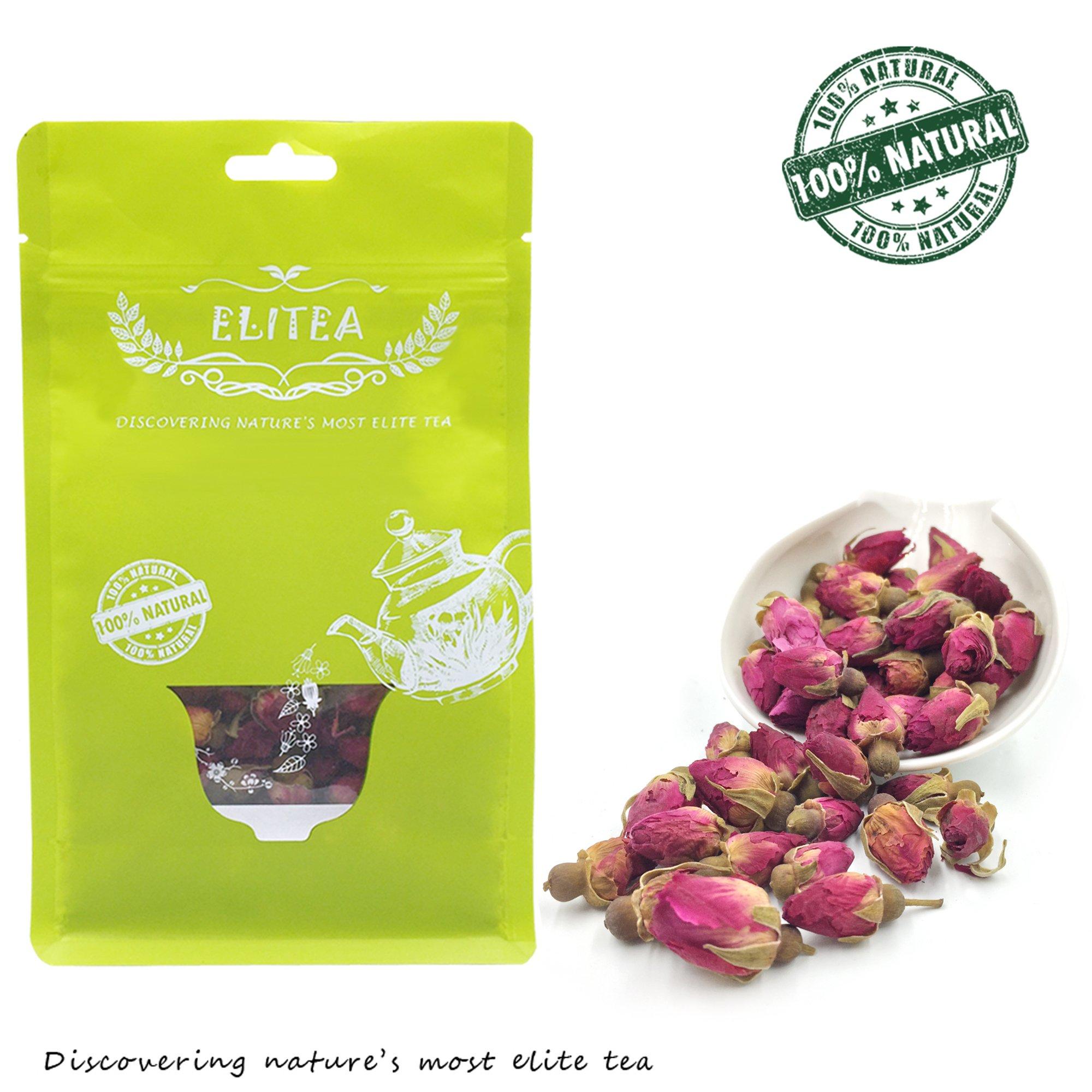 Amazon dechunxiandried jasmine bud jasmine flower tea elitea 53oz dried rose buds rosebud flower herb loose leaf tea 150g 100 fragrant dhlflorist Gallery