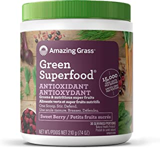 product image for AMAZING GRASS Sweet Berry Antioxidant Green Superfood, 210 GR