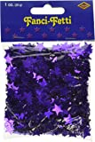 Amscan International Metallic Stardust Confetti, Purple