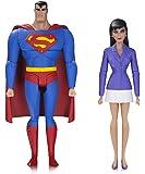 DC Comics JAN170424 Superman und Lois Lane Aktionfigur, Animierte Serie