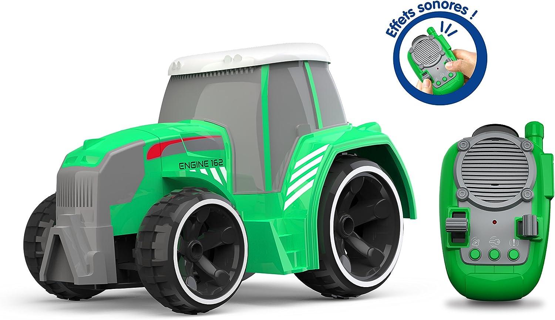 Silverlit Tooko – Tractor radiocontrolado con Efectos sonoros, multidireccional, Control Completo del Mando a Distancia – Juguete para la Maternidad