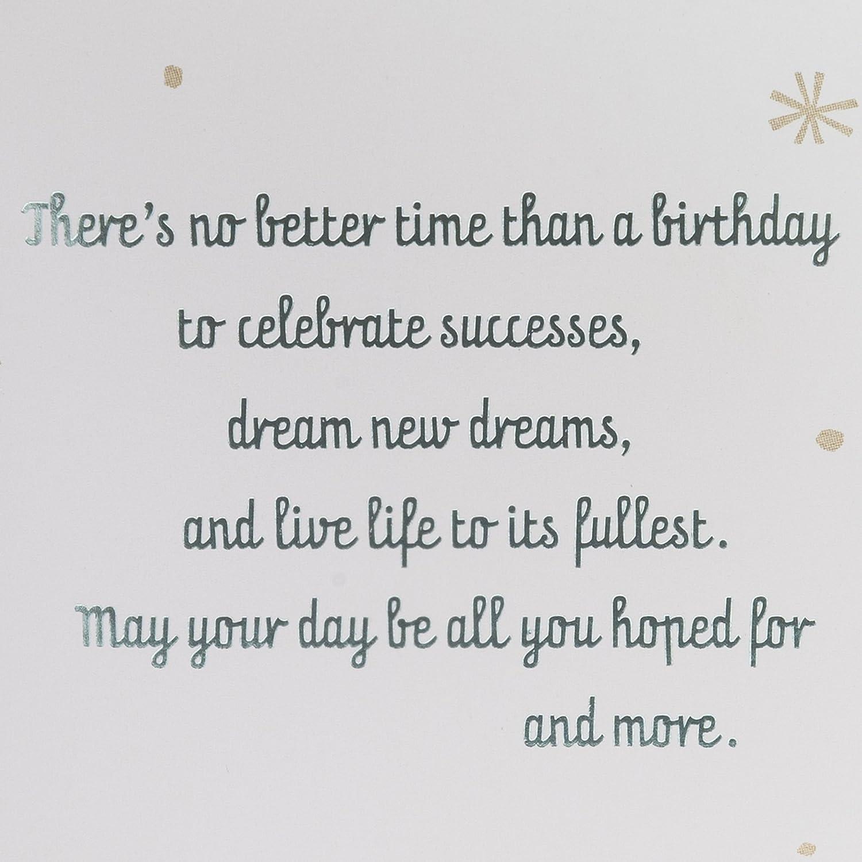 Amazon Hallmark Birthday Card Live Life To The Fullest