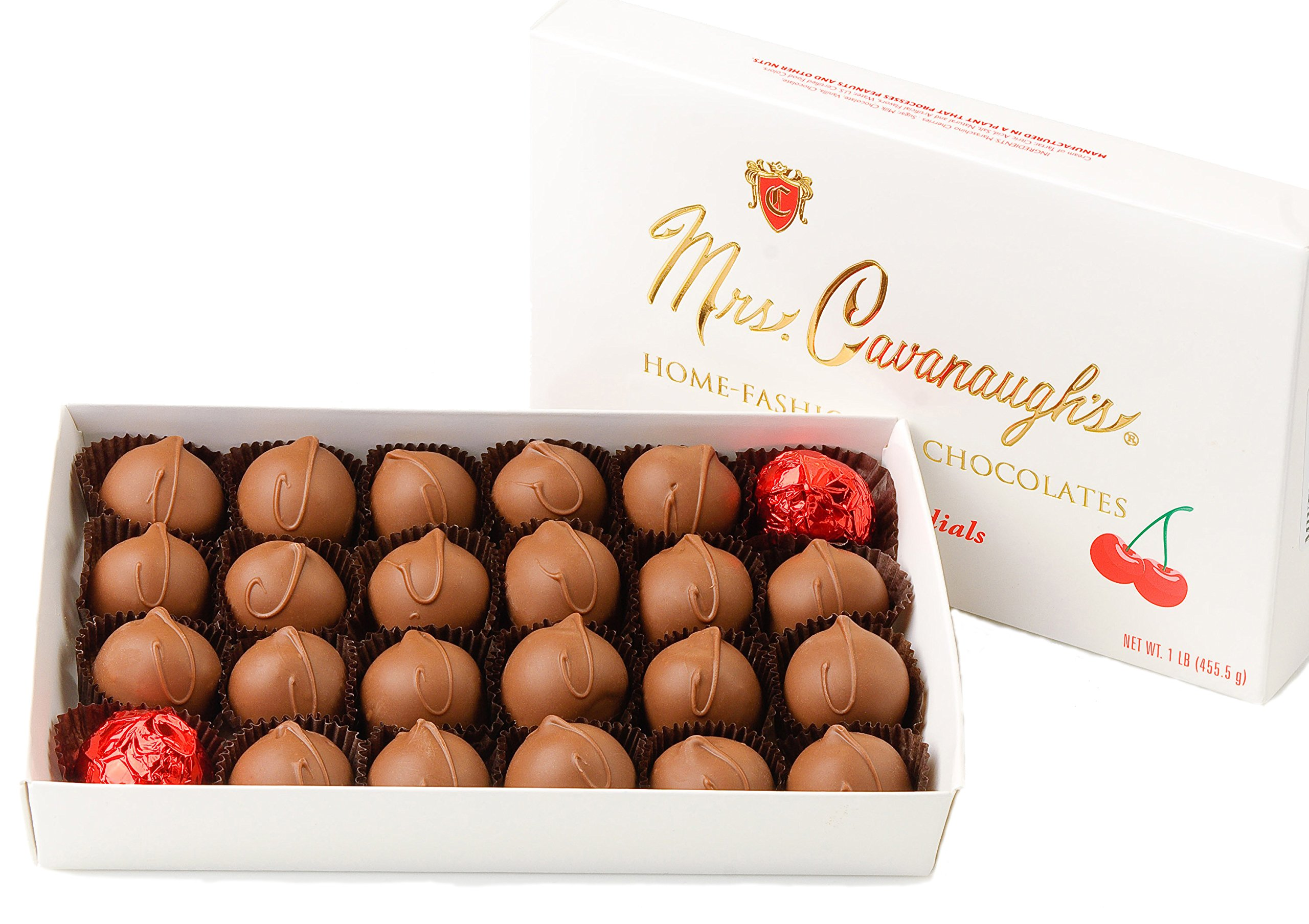 Mrs. Cavanaugh's Cherry Cordials 5-lb Boxed Milk Chocolate - Cherry Chocolates by Mrs. Cavanaugh's