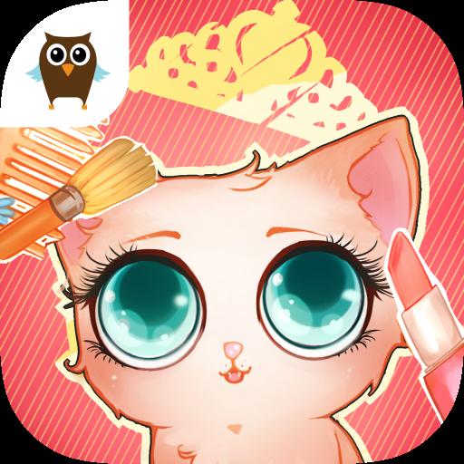 Cute: My Virtual Pet - Kitten Care, Bath, Cleanup & (Cute Girl)