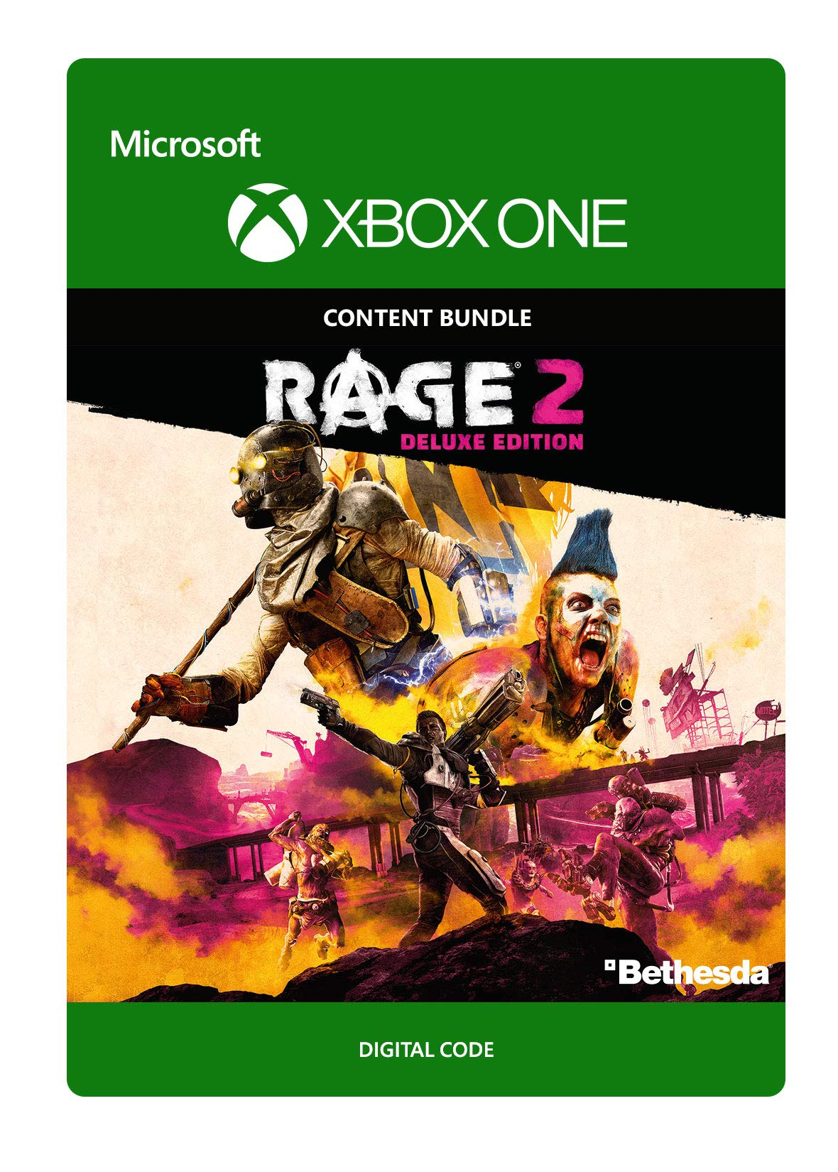 Rage 2: Deluxe Edition - Xbox One [Digital Code]