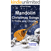 Mandolin Christmas Songs: TABs and Chords book cover