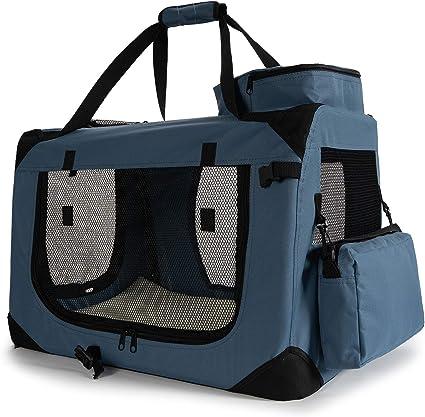 Zedelmaier Hundebox Auto Transportbox Katzenbox Hundekäfig faltbar 5 Größe S-XXL