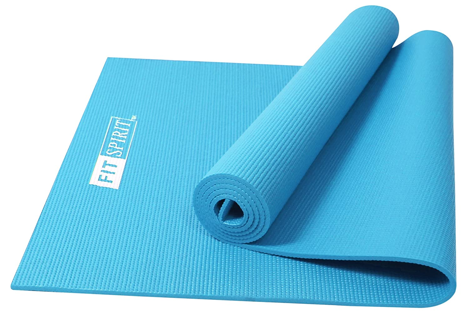 Amazon.com : Fit Spirit Premium Printed Yoga Mat : Sports & Outdoors