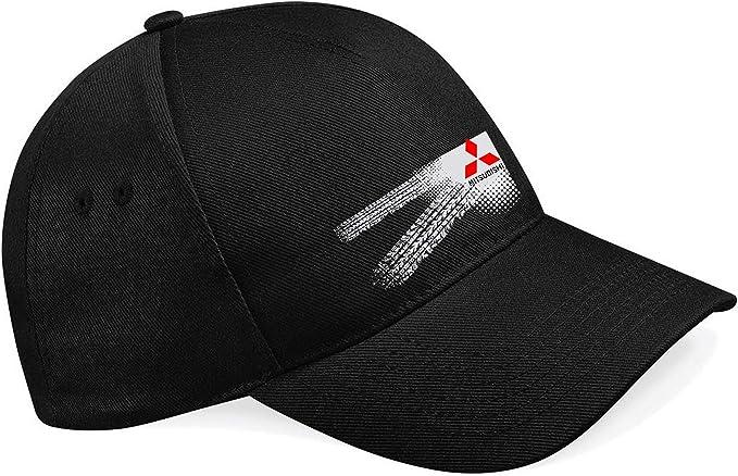 molda18 - Gorra de béisbol para Mitsubishi Auto Logo Car: Amazon ...