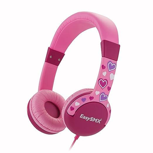 35 opinioni per EasySMX Cuffie Comode per Bambini Auricolari per Bimbi Over-ear Limitato Volume