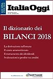 Il dizionario dei bilanci 2018
