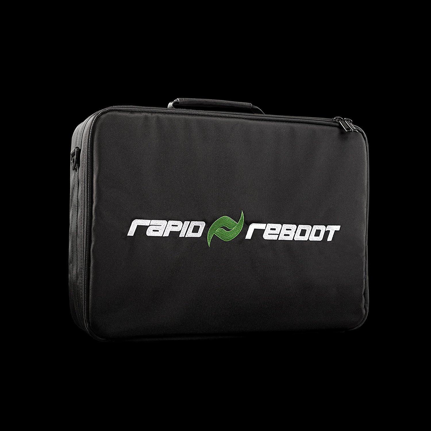 Rapid Reboot Recovery Travel Case: Travel Case for recovery attachments and pump. Air compression therapy for improved circulation, fast workout recovery for runners, & other athletes. (XL, L, M, S) by Rapid Reboot