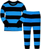 Amazon Price History for:Boys Striped Pajamas Christmas Children PJs Gift Set 100% Cotton Kids Pyjamas