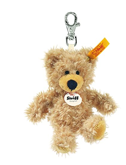 Charly Teddy Bear Plush Animal Toy, Beige
