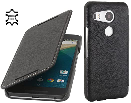 7 opinioni per StilGut Book Type Case senza Clip, custodia in pelle a libro Google Nexus 5X,