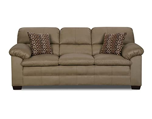 Simmons Upholstery Velocity Sofa, Mineral