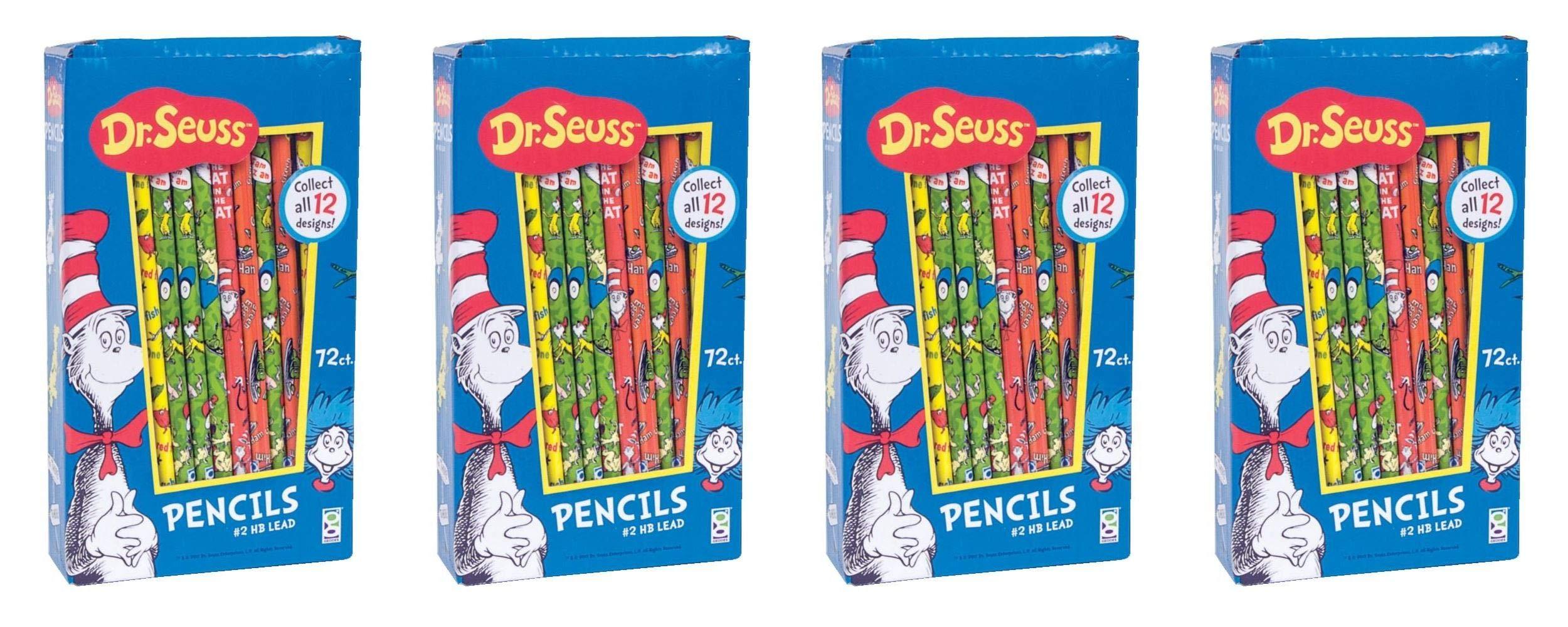 Raymond Geddes Dr. Seuss Pencil Too, 72 Pack (68508) (Fоur Paсk) by Raymond Geddes (Image #1)