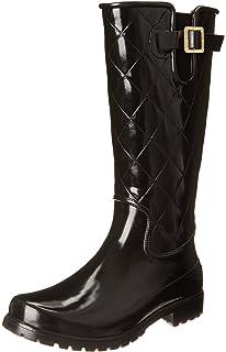0b3cb423aa5 Sperry Women s Pelican Black Quilted Rain Boot
