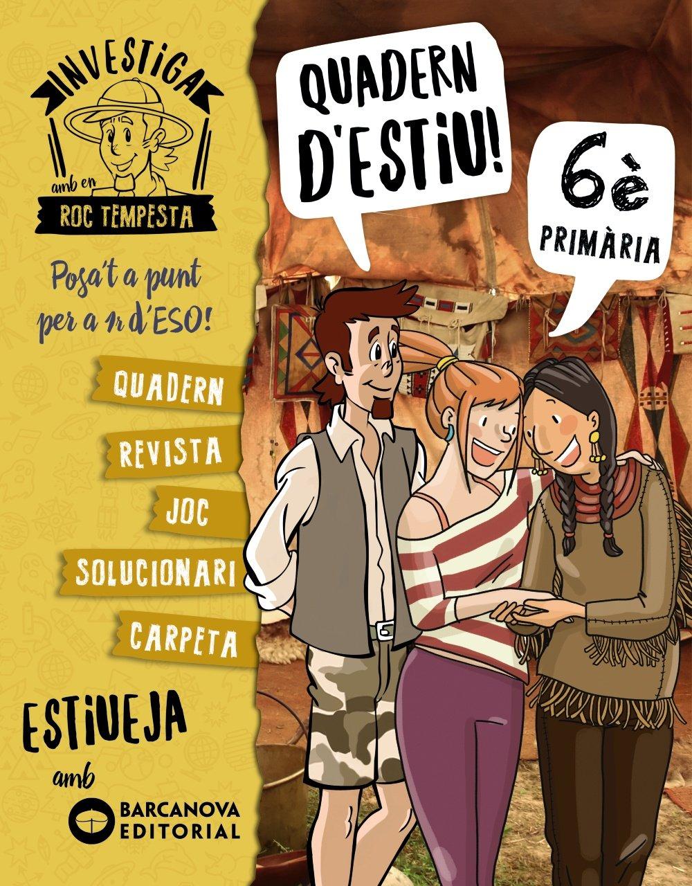Investiga amb Roc Tempesta 6. Estiueja amb Barcanova: Amazon.es: Núria  Murillo, Santi Baró, Òscar Sardà, Cristina Picazo: Libros