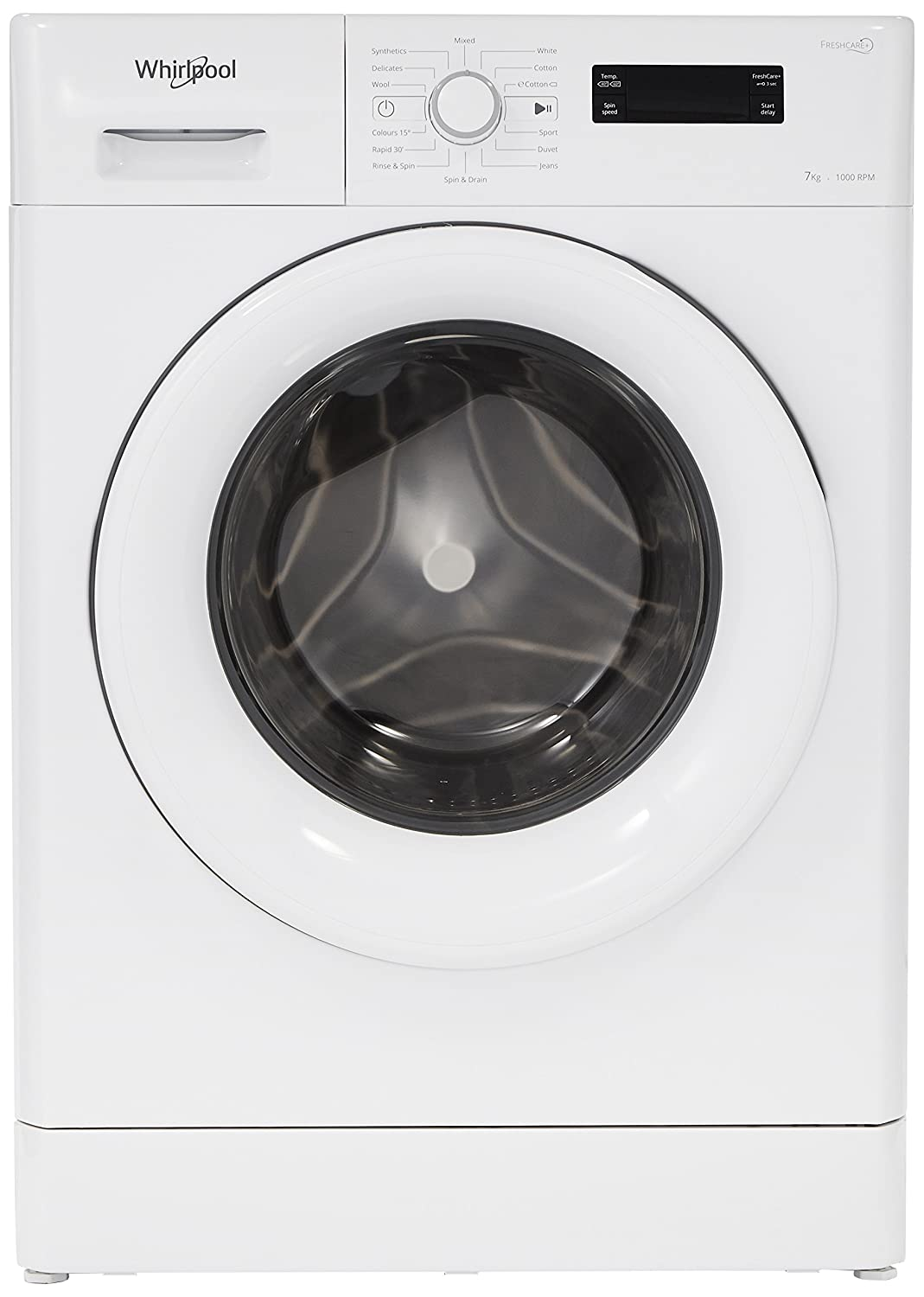 bfdb1e98adfb7 Whirlpool 7 kg Fully-Automatic Front Loading Washing Machine (Fresh Care  7110