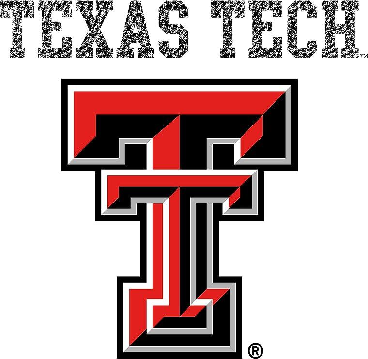 NCAA Texas Tech Red Raiders 01AMAA16 Unisex Long Sleeve Pocket T-Shirt