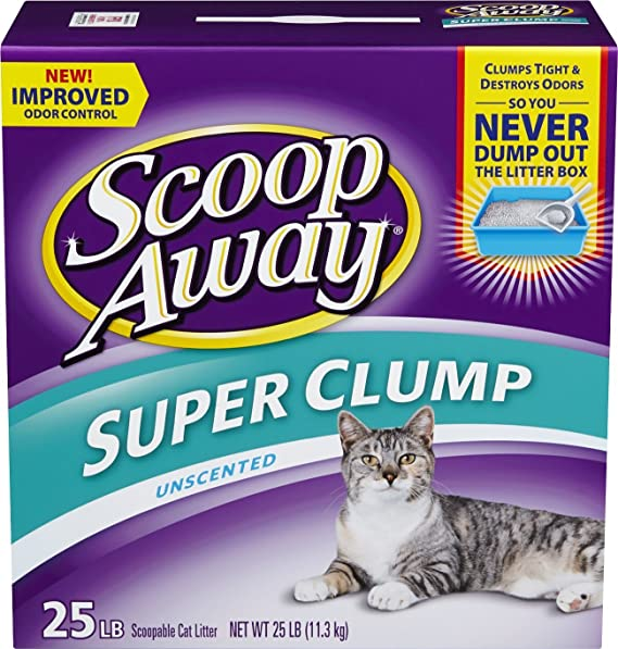 5. Scoop Away Super Clump - Best For Never Empty