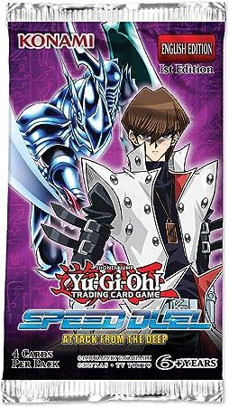 Konami Yu-Gi-Oh! Speed Duel Attack from The Deep Display - Juego de 36 paquetes: Amazon.es: Juguetes y juegos