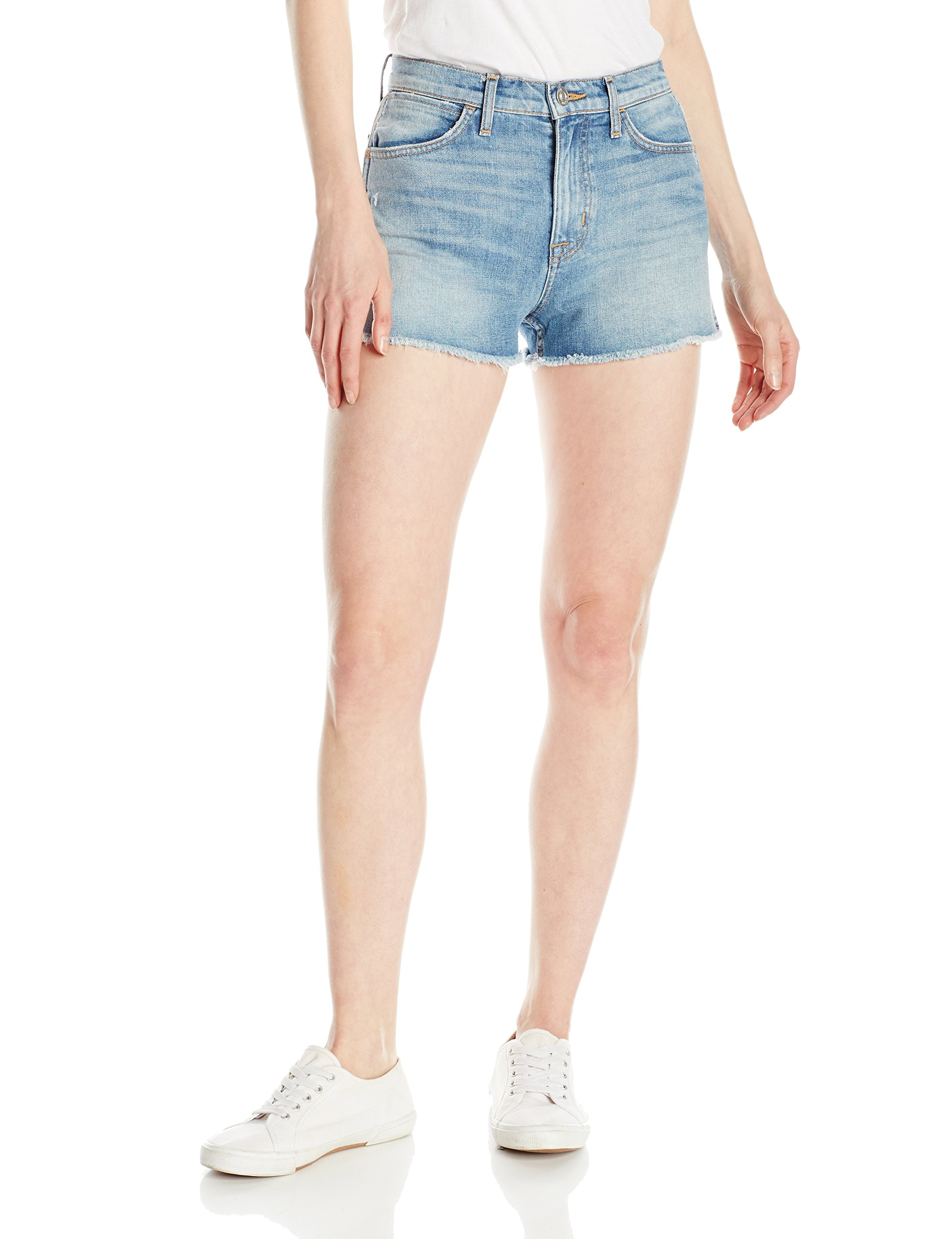 Hudson Jeans Women's Soko High Rise Cut Off 5-Pocket Short, Endurance, 30