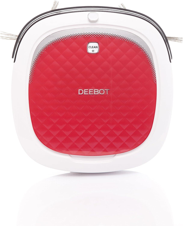 DEEBOT 3 D35 - Robot aspirador, color rojo y blanco: Amazon.es: Hogar